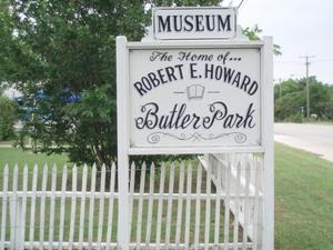 Primary view of object titled 'The Home of Robert E. Howard, Butler Park'.