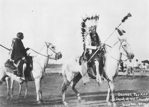 Primary view of object titled 'Quanah Parker on Horseback'.