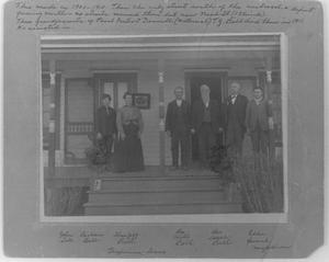 Primary view of object titled 'T.J. Bell Family'.