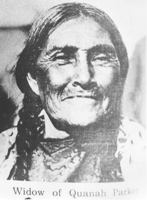 Primary view of object titled 'To-Pay, Widow of Quanah Parker'.