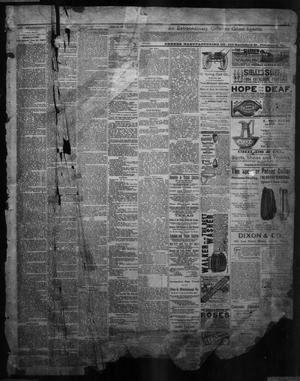 Primary view of object titled 'The Austin Weekly Statesman. (Austin, Tex.), Vol. 13, Ed. 1 Thursday, January 17, 1884'.