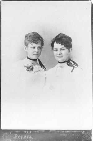 Primary view of object titled 'Mary Roach Owens and Edna Roach Fitzgerald'.