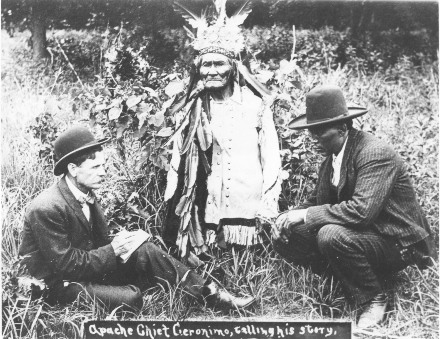 Apache Leader Geronimo Telling His Story The Portal To