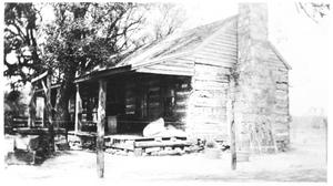 Primary view of object titled 'Torian Log Cabin'.