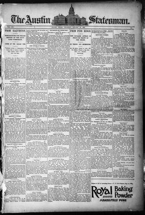 Primary view of object titled 'The Austin Statesman. (Austin, Tex.), Vol. 8, Ed. 1 Thursday, January 15, 1891'.