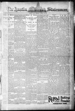Primary view of object titled 'The Austin Statesman. (Austin, Tex.), Vol. 8, No. 39, Ed. 1 Thursday, January 22, 1891'.