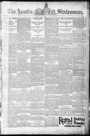 The Austin Statesman. (Austin, Tex.), Vol. 8, No. 39, Ed. 1 Thursday, January 29, 1891