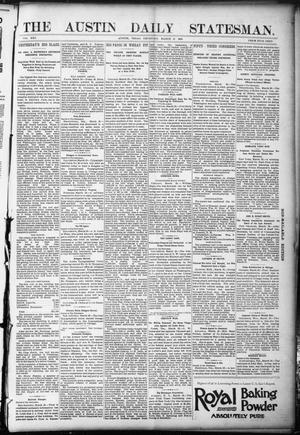 Primary view of object titled 'The Austin Weekly Statesman. (Austin, Tex.), Vol. 21, Ed. 1 Thursday, March 30, 1893'.