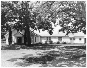 Primary view of object titled 'Lonesome Dove Baptist Church'.