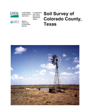 Primary view of object titled 'Soil Survey of Colorado County, Texas'.