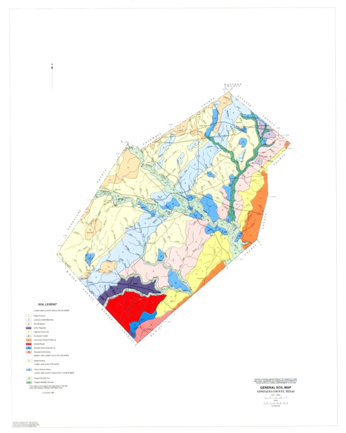 General Soil Map, Gonzales County, Texas - The Portal to ... on windcrest map, west baton rouge parish map, barataria map, franklinton map, norman map, mondragon map, evangeline map, gorda map, leesville map, zapata map, east feliciana map, amador map, ochiltree map, fifth ward map, grimaldi map, arevalo map, chualar map, obregon map, lajitas map,
