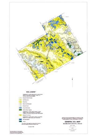 General Soil Map, Hamilton County, Texas