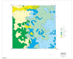 General Soil Map, King County, Texas