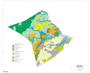 General Soil Map, Lee County, Texas