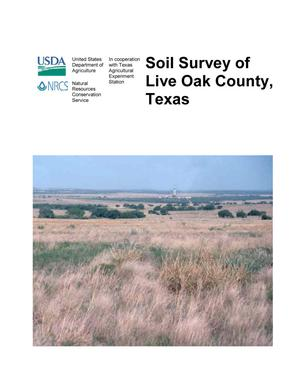 Primary view of object titled 'Soil Survey of Live Oak County, Texas'.