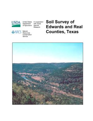 Primary view of object titled 'Soil Survey of Edwards and Real Counties, Texas'.