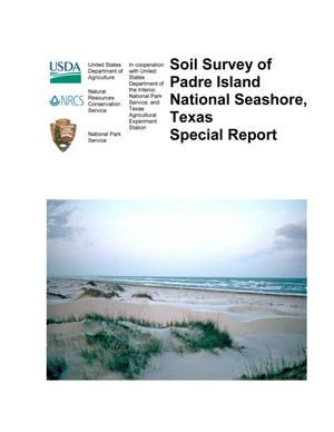 Primary view of object titled 'Soil Survey of Padre Island National Seashore, Texas: Special Report'.