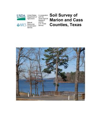 Soil Survey of Marion and Cass Counties, Texas