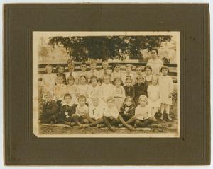 [Little Green School: First Grace Class, 1918]