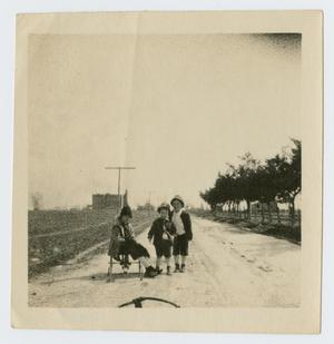 [Three Children on Kansas Street]