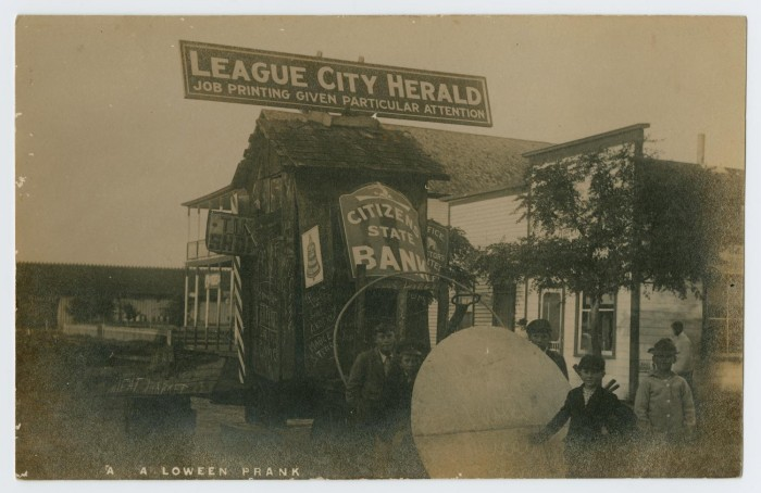 City-Wide Halloween Prank] - The Portal to Texas History
