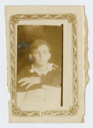 Primary view of object titled '[Charles Kilgore as a Teenager]'.