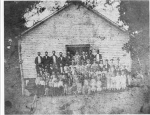 Primary view of object titled 'Zion Methodist Church and School'.