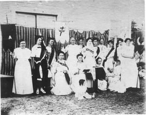Primary view of object titled 'Women's Lodge Meeting in Bransford'.