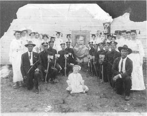 Primary view of object titled 'Woodsmen of the World Assembly and Graduation Recognition'.