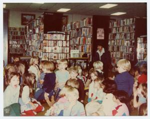 [Children Gathered at Helen Hall Library]