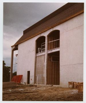 Primary view of object titled '[Helen Hall Library Exterior]'.