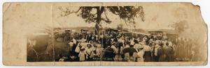 Primary view of object titled '[Memorial Day at Fairview Cemetery]'.