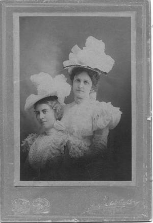 Primary view of object titled 'Helen Camille Shauck and Martha Lucille Newcomb'.