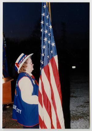 [American Legion Flag Ceremony]