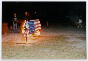 Primary view of object titled '[American Legion Flag Ceremony]'.