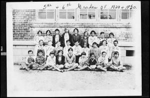 Primary view of object titled '[5th and 6th Grade Class Photo]'.