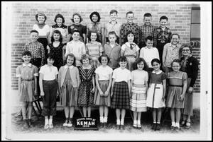 [Kemah School Class, 1955]