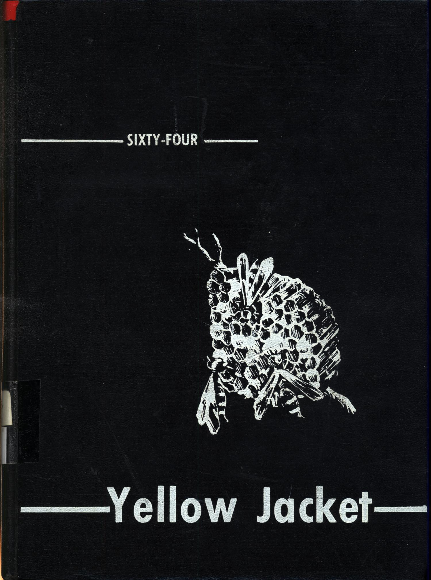 The Yellow Jacket, Yearbook of Thomas Jefferson High School, 1964                                                                                                      Front Cover