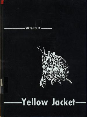 Primary view of object titled 'The Yellow Jacket, Yearbook of Thomas Jefferson High School, 1964'.