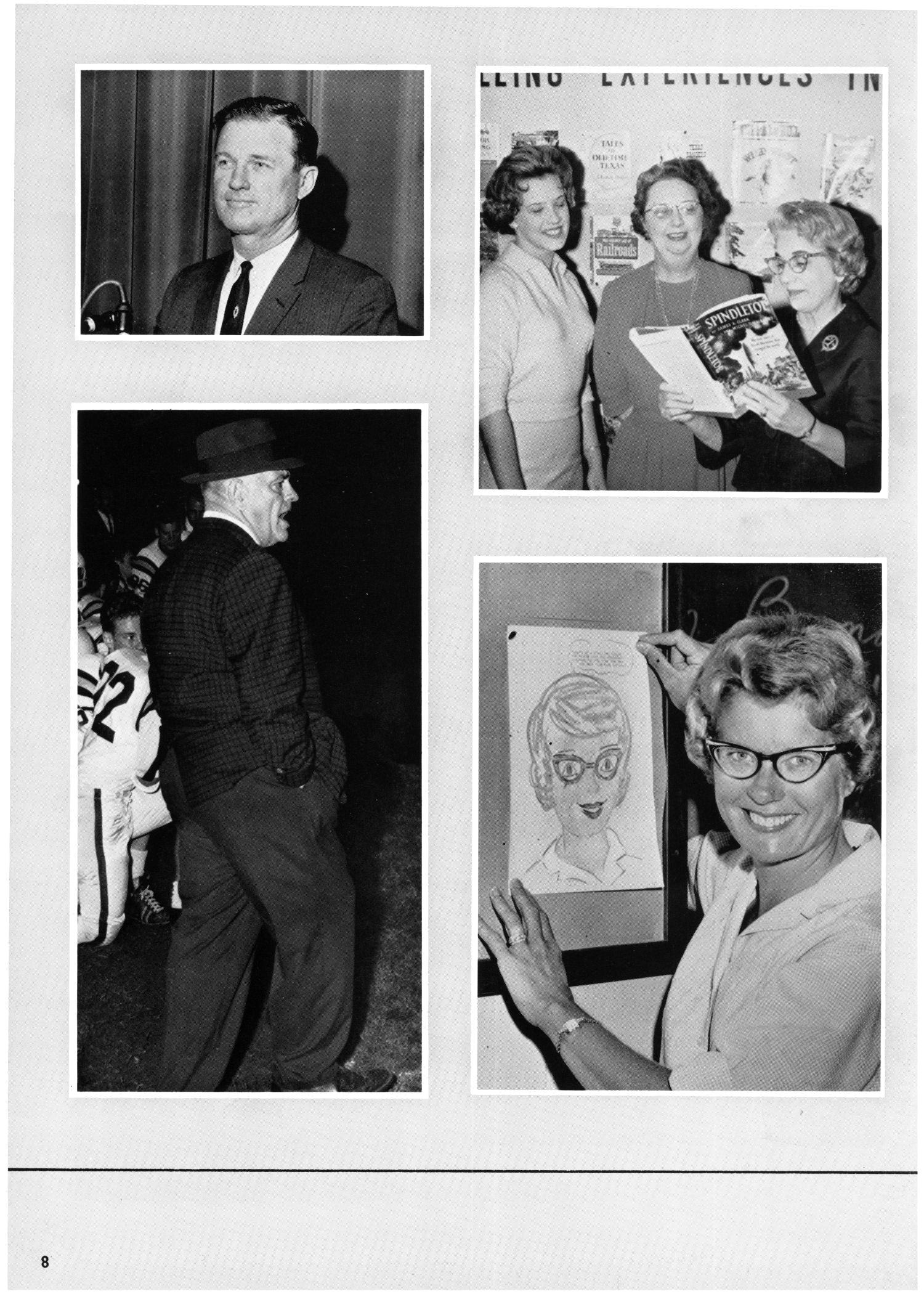 The Yellow Jacket, Yearbook of Thomas Jefferson High School, 1964                                                                                                      8