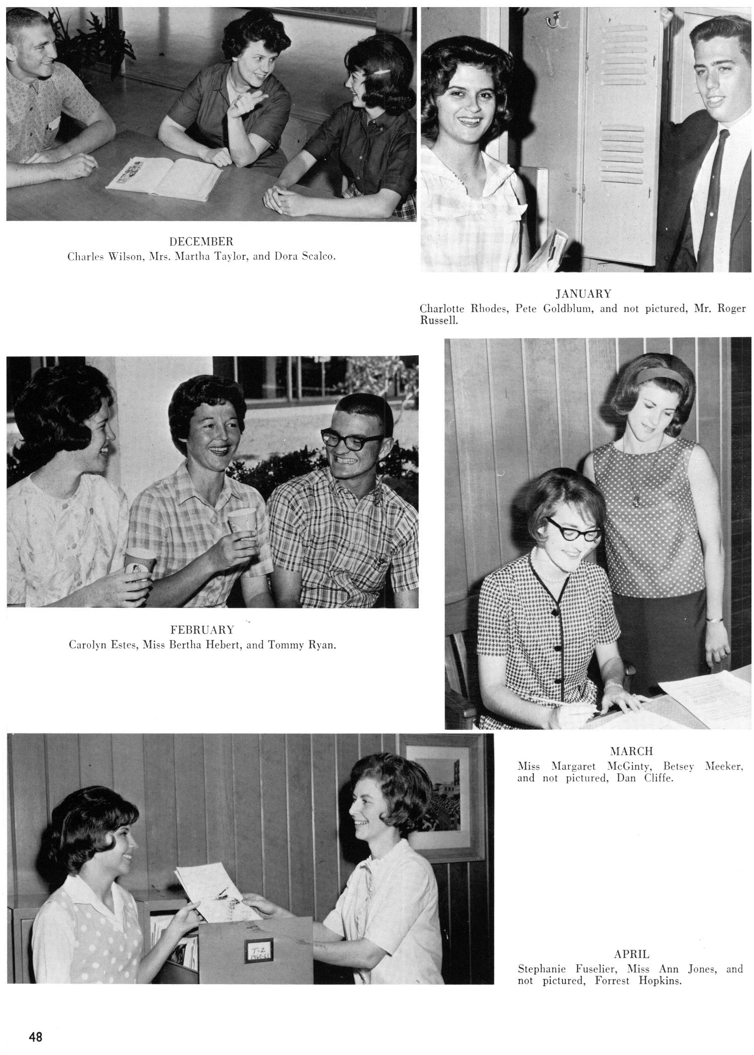 The Yellow Jacket, Yearbook of Thomas Jefferson High School, 1964                                                                                                      48
