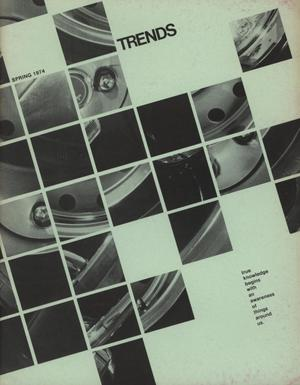 Primary view of object titled 'Texas Trends in Art Education, Spring 1974'.