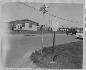 Primary view of object titled 'Intersection of Souder Drive and Redbud Drive'.