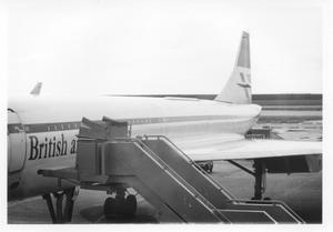 Primary view of object titled 'British Concorde Jet'.