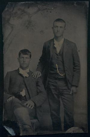 [Portrait of Two Young Men]