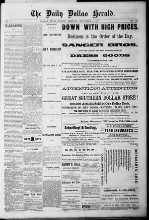 Primary view of The Dallas Daily Herald. (Dallas, Tex.), Vol. 2, No. 178, Ed. 1 Sunday, September 6, 1874