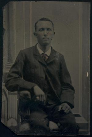 Primary view of object titled '[Man in Suit]'.