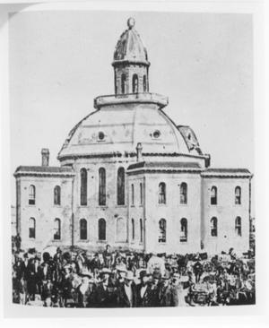 Primary view of object titled 'Tarrant County Courthouse (1877)'.