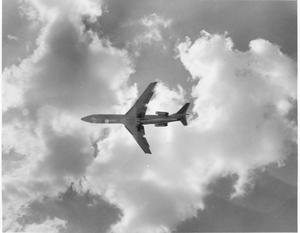 Primary view of object titled 'Airplane Flying from Dallas-Fort Worth International Airport'.