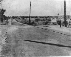 Primary view of object titled 'Intersection of Precinct Line Road and Bedford-Euless Road'.